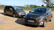 Essai Citroën Grand C4 Picasso 2.0 HDi 138 ch vs Renault Grand Scénic 1.9 dCi 130 ch : Classes business