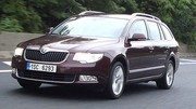 Emission Turbo : Skoda Superb Combi, Lexus LS 600h vs Mercedes S 400 HYBRID
