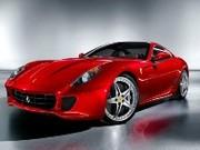 Une 599 GTO en préparation chez Ferrari