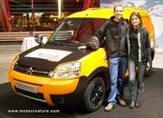 De Shanghai à Paris en voiture électrique, dans une Citroën motorisée par Venturi