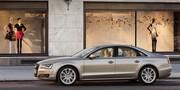 Audi A8 2010 : anneaux de gamme