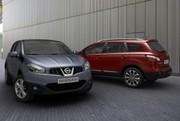 Les Nissan Qashqai et Qashqai+2 se refont une beauté