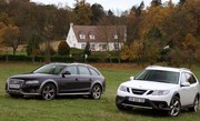 Comparatif Audi A4 Allroad vs Saab 9-3X : anges et démons