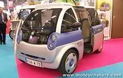 Le salon du véhicule électrique, découvrez la Friendly, la Reva NXR, la Simplicity