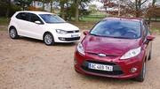 Essai Volkswagen Polo 1.6 TDI 90 ch vs Ford Fiesta 1.6 TDCi 90 ch : La cigale et la fourmi