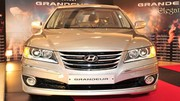 Hyundai Azera restylée : premières photos