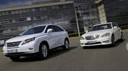Essai Lexus RX 450h contre Mercedes S 400 HYBRID : Batteries d'exception