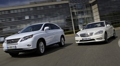 Essai Lexus RX 450h contre Mercedes S 400 HYBRID : Batteries d'exception