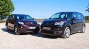 Essai Toyota Urban Cruiser 1.4 D4D vs Citroën C3 Picasso 1.6 HDi : Esthétiques et pratiques