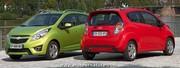 Chevrolet Spark : En GPL dés le lancement