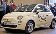 Chrysler et Fiat présenteront une 500 électrique au salon de Detroit