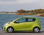 Chevrolet : la Spark fait son entrée sur le marché indien