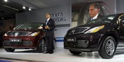 Salon de New Delhi 2010 : Tata Aria, slumdog crossover