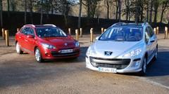 Essai Renault Mégane Estate 1.5 dCi 110 ch vs Peugeot 308 SW 1.6 HDi 110 ch : Chics et pratiques