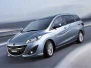 La nouvelle Mazda 5, avec Start & Stop, présentée à Genève