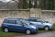 Essai comparatif Peugeot 5008 et Citroën Grand C4 Picasso