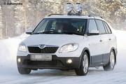 Skoda Fabia : Un facelift surpris dans le froid !