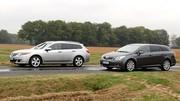 Essai Honda Accord Tourer i-DTEC 150 ch vs Toyota Avensis SW D-4D 150 ch : Corps Accord
