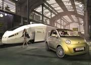 Rinspeed UC : La voiture qui prend le train