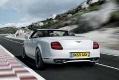 Bentley Continental GTC Supersports : Coup de zoom sur l'horizon