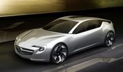 Opel Flextreme GT/E Concept : Electrique forte en style