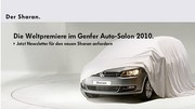 Salon Genève 2010 : le Volkswagen Sharan fait son strip-tease