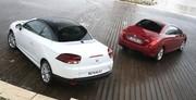 Renault Mégane CC contre Peugeot 308 CC : Contre-offensive quatre saisons