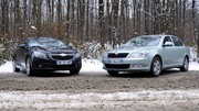 Essai Skoda Octavia 1.6 TDI 105 ch vs Chevrolet Cruze 2.0 VCDi 150 ch : Solutions anti-crise