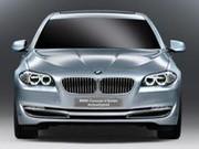 BMW série 5 hybride, un GPS qui aide à moins consommer
