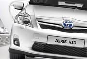 Salon Genève 2010 : Toyota Auris HSD