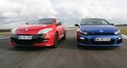 Essai Mégane Coupé RS VS Scirocco R : De l'R dans le circuit