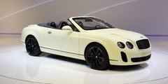 Salon de Genève : Bentley Continental GTC Supersports