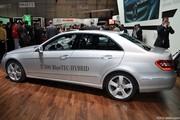 Salon de Genève 2010: Mercedes Classe E 300 BlueTEC HYBRID