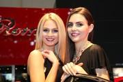 Les hôtesses du Salon de Genève 2010