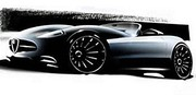 Alfa Romeo 4C : dévoilée au concours d'élégance de Pebble Beach ?