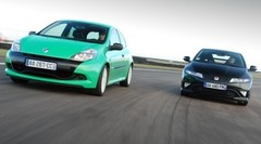 Essai Clio RS Cup VS Civic Type R : Un match à plus de 7000 tr/min