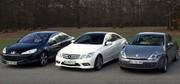 Essai Renault Laguna Coupé, Peugeot 407 coupé, Mercedes E Coupé : le luxe français est-il mort ?