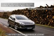 Essai Peugeot 407 SW 2.0 HDI 163 BVA Signature