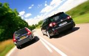 Essai Volkswagen Passat SW R36 vs Volvo V70 T6 AWD Geartronic Summum : Double vie