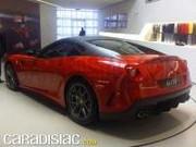 Voici la Ferrari 599 GTO en chair et en os