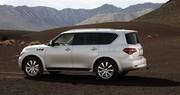 Infiniti QX : Nissan Patrol endimanché