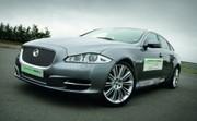 Jaguar Limo-Green : Jaguar XJ hybride !