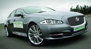 Jaguar XJ Limo-Green : vert anglais