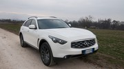 Infiniti FX50S Limited Edition : Prise de contact