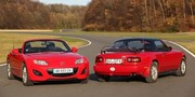 Essai Mazda MX-5 1.8 MZR Elégance cuir : 20 ans le bel âge !