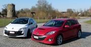 Essai Mazda 3 MPS vs Renault Mégane RS : Les turbulentes ! (Part. 2/2)