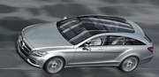 Premières images de la Mercedes CLC en version break de chasse