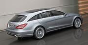 Mercedes-Benz CLS Shooting Break concept : Le défricheur