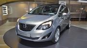 Opel Meriva 2 : les tarifs