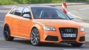 L'Audi RS3 se prépare au Nürburgring